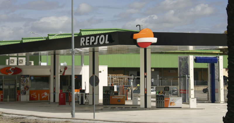 Próxima apertura gasolinera